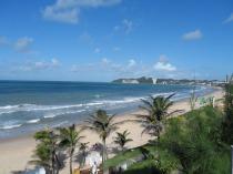 Vista de la playa desde la piscina