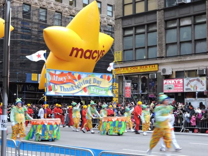 Así fue el Desfile del Día de Acción de Gracias en Nueva York