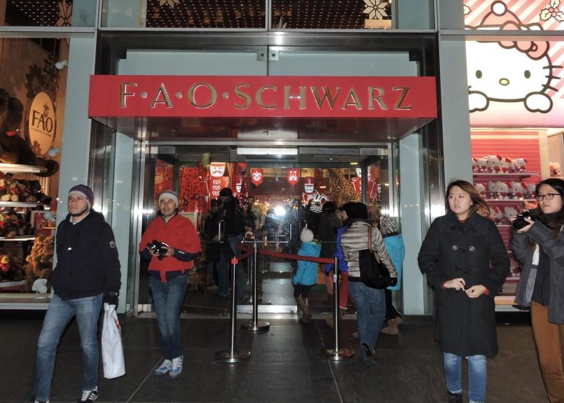 FAO SCHWARZ NEW YORK