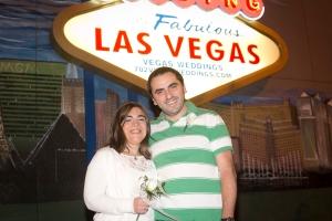 Renovamos los votos en Las Vegas