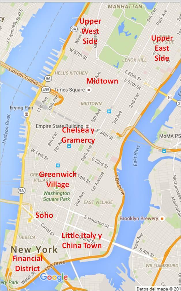 donde hospedarse en nueva york