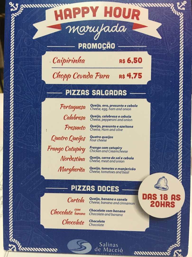 salinas de maceio pizza