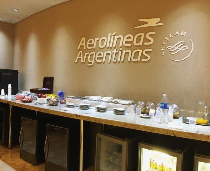 Conociendo el Salón Cóndor de Aerolíneas Argentinas en Ezeiza