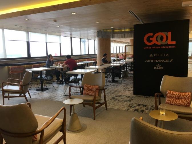 Salón VIP de Gol para vuelos de cabotaje en Guarulhos