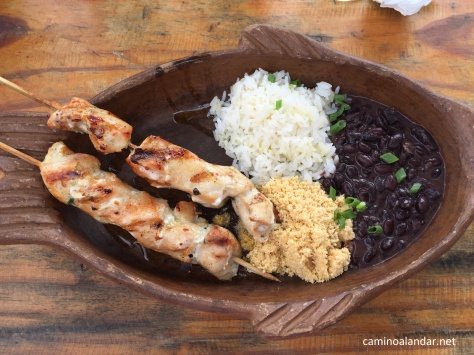 comida brasileña Jericoacoara