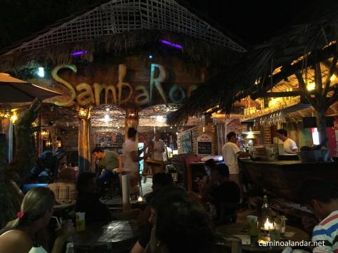 Samba Rock restaurant Jericoacoara