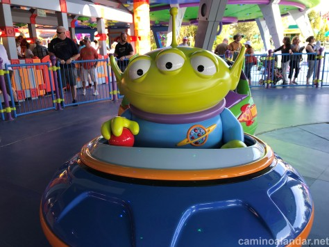 ALIEN TOY STORY LAND DISNEY HOLLYWOOD STUDIOS