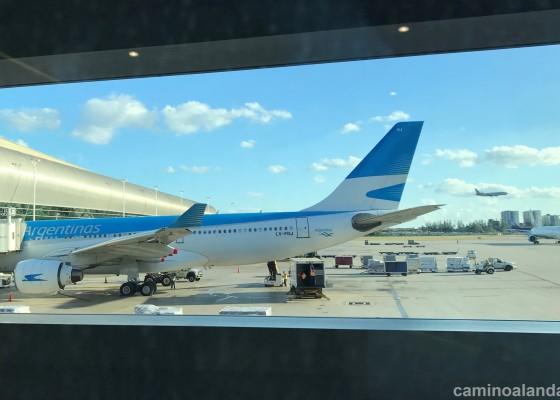 aerolineas argentinas miami