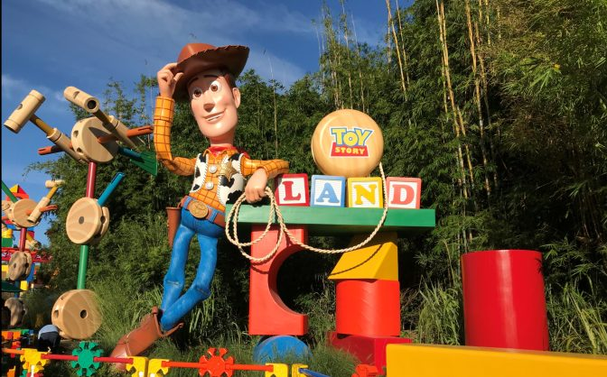 TOY STORY LAND DISNEY HOLLYWOOD STUDIOS