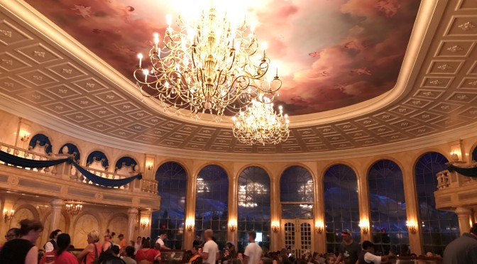 Almuerzo en Magic Kingdom: Be Our Guest restaurant