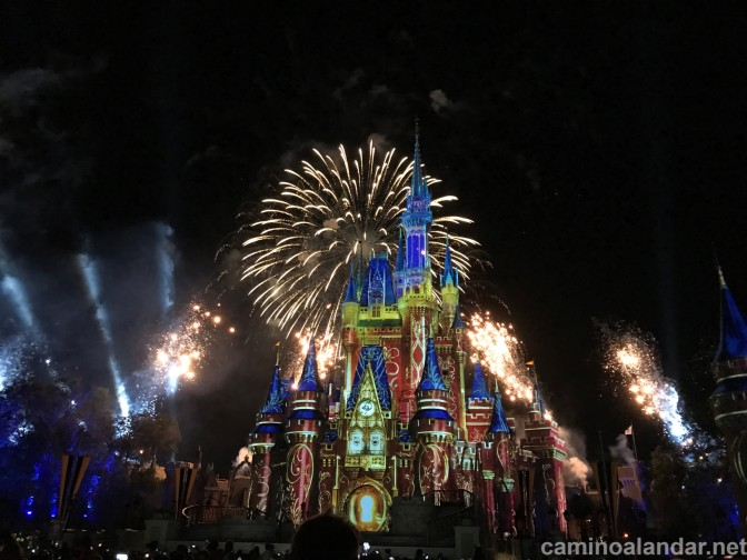 Happily Ever After, el espectacular show de cierre de Magic Kingdom