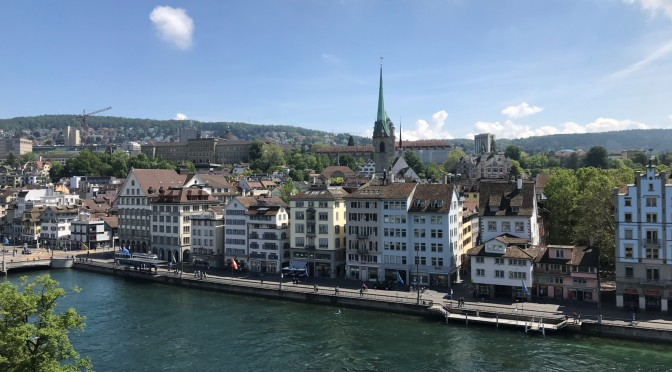 Qué hacer en Zúrich en un día: itinerario de los principales atractivos